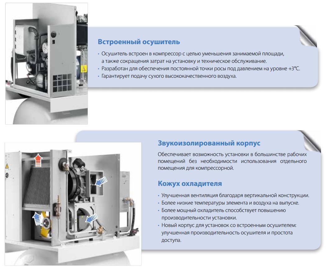 спиральные компрессоры дополнительное оборудование