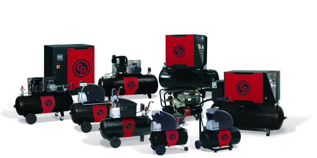 Поршневые и винтовые компрессоры Chicagp Pneumatic