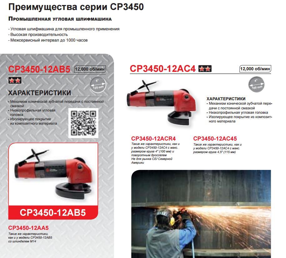 Шлифовальные машины Чикаго Пневматик 003
