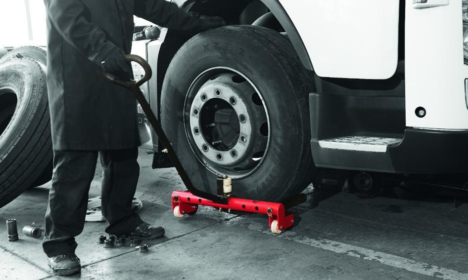 Тележка для перевозки колес Chicago Pneumatic CP84010