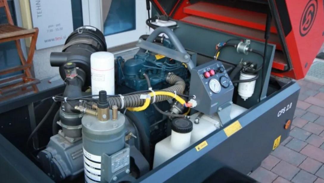 Электрические передвижные компрессоры от компании Чикаго Пневматик
