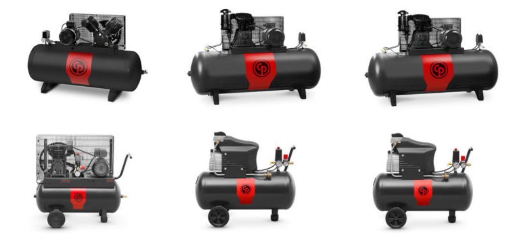 Запасные части для поршневых компрессоров Chicago Pneumatic
