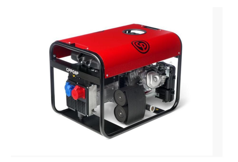 Купить бензиновые генераторы серии CPPG