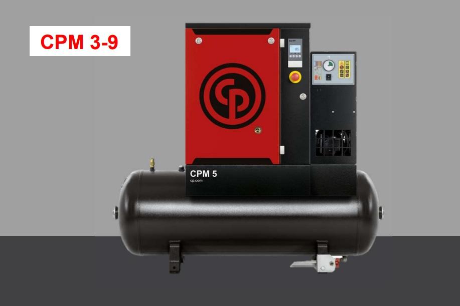 Обзор винтовых компрессоров Chicago Pneumatic CPM 3-9