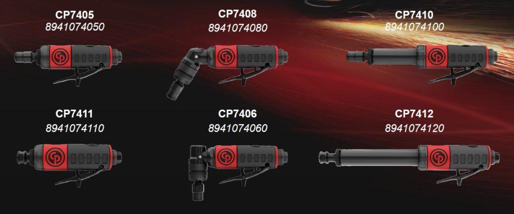 Модельный ряд бормашин Chicago Pneumatic CP74