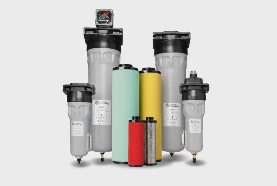 Линейные фильтры сжатого воздуха Chicago Pneumatic
